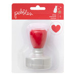 Pebbles - We Go Together Collection - Self-Inking Stamp - Heart