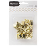 Pebbles - Cottage Living Collection - Gold Metal Clips
