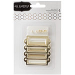 Pebbles - Cottage Living Collection - Gold Metal Labels