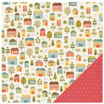 Pebbles - Homegrown Collection - 12 x 12 Double Sided Paper - Home Sweet Home