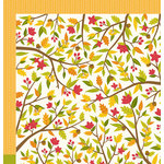 Pebbles - Harvest Collection - 12 x 12 Double Sided Paper - Fall Time