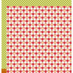 Pebbles - Harvest Collection - 12 x 12 Double Sided Paper - Apple Crisp