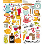 Pebbles - Harvest Collection - Cardstock Stickers