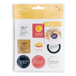 Pebbles - Harvest Collection - Cardstock Stickers - Labels