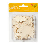 Pebbles - Harvest Collection - Wood Veneer Pieces - Leaf Pack