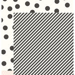 Pebbles - DIY Home Collection - 12 x 12 Double Sided Paper - Ribbon Stripe