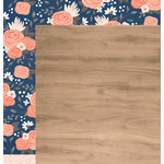 Pebbles - DIY Home Collection - 12 x 12 Double Sided Paper - Wood Floors