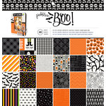 Pebbles - Boo Collection - Halloween - 12 x 12 Paper Pad