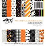 Pebbles - Boo Collection - Halloween - 6 x 6 Paper Pad