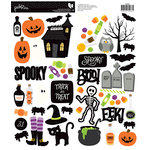 Pebbles - Boo Collection - Halloween - Cardstock Stickers