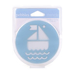 American Crafts - Pebbles - Chalk Stencils - Baby Boy