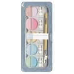 American Crafts - Pebbles - Pearlescent Chalk Set - 10 Piece - Pastels