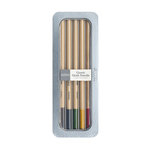 American Crafts - Pebbles - Chalk Pencil Set - 5 Piece - Classic - Earth Tones