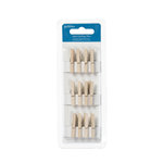 American Crafts - Pebbles - Fresh Goods Collection - Mini Clothes Pins - Natural Wood