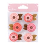 American Crafts - Pebbles - New Arrival Collection - Felt Embellishments - Girl
