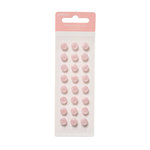 American Crafts - Pebbles - New Addition Girl Collection - Self Adhesive Candy Dots - Pink Buttons