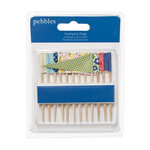 American Crafts - Pebbles - Fresh Goods Collection - Toothpick Flags