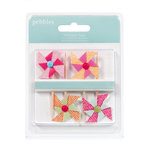 American Crafts - Pebbles - Hip Hip Hooray Collection - Pinwheels