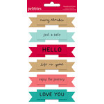 American Crafts - Pebbles - Walnut Grove Collection - 3 Dimensional Banners