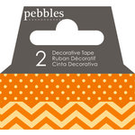 Pebbles - Basics Collection - Washi Tape - Dot and Chevron - Honeycomb