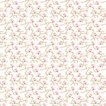 American Crafts - Pebbles - New Arrival Collection - 12 x 12 Double Sided Paper - Little One Girl