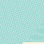 American Crafts - Pebbles - Ever After Collection - 12 x 12 Double Sided Paper with Glitter Accents - Sparkle