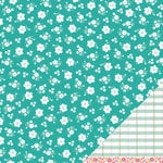 American Crafts - Pebbles - Floral Lane Collection - 12 x 12 Double Sided Textured Paper - You're Sweet