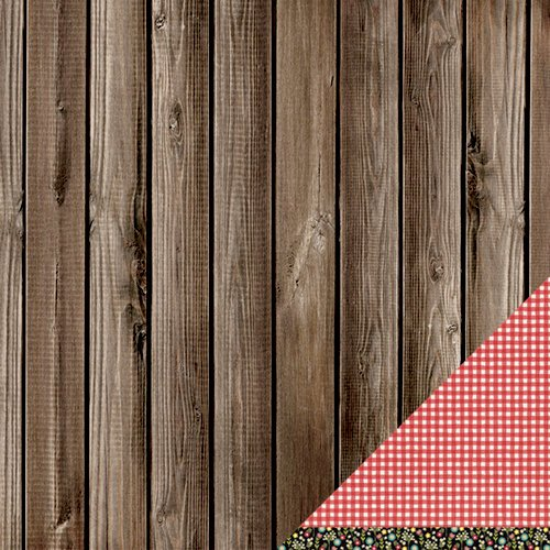 American Crafts - Pebbles - Walnut Grove Collection - 12 x 12 Double Sided Paper - James