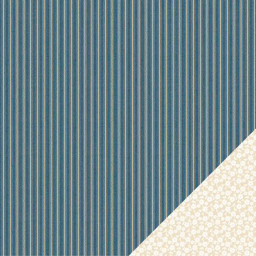 American Crafts - Pebbles - Walnut Grove Collection - 12 x 12 Double Sided Kraft Paper - Carrie