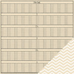 Pebbles - Walnut Grove Collection - 12 x 12 Double Sided Kraft Paper - Cassandra