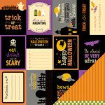 American Crafts - Pebbles - Tricks and Treats Collection - Halloween - 12 x 12 Double Sided Paper - Rotten Rd.