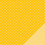 American Crafts - Pebbles - Basics Collection - 12 x 12 Double Sided Paper - Honeycomb Dot