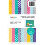 American Crafts - Pebbles - Basics Collection - 5.5 x 8.5 Cardmaking Paper Pad 1