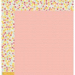 American Crafts - Pebbles - Love You More Collection - 12 x 12 Double Sided Paper - Chloe