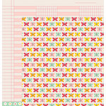 American Crafts - Pebbles - Love You More Collection - 12 x 12 Double Sided Paper - Finley