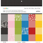 Pebbles - Basics Collection - 12 x 12 - Paper Pad