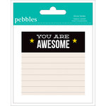Pebbles - Love You More Collection - Sticky Notes - Boy