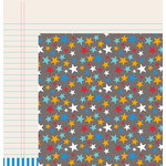 American Crafts - Pebbles - Party with Amy Locurto - 12 x 12 Double Sided Paper - Pow