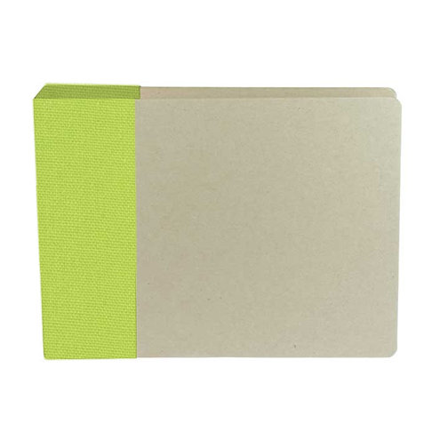 American Crafts - Modern Album - Customizable 6x6 D-Ring Album - Green