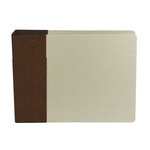 American Crafts - Modern Album - Customizable 6x6 D-Ring Album - Brown