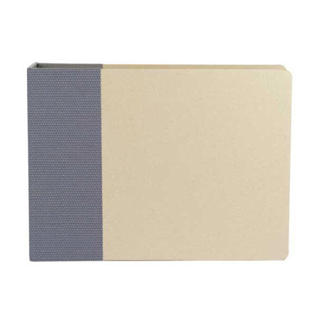 American Crafts - Modern Album - Customizable 12x12 D-Ring Album - Navy, CLEARANCE