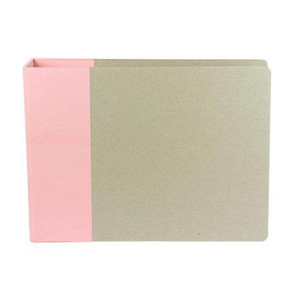 American Crafts - Modern Album - Customizable 12x12 D-Ring Album - Light Pink