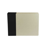 American Crafts - Modern Album - Customizable 6x6 D-Ring Album - Black