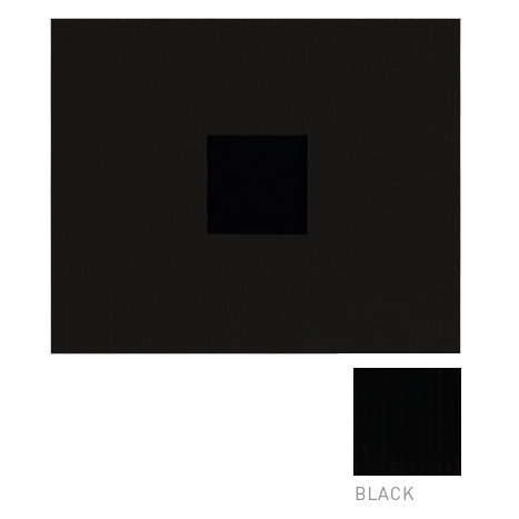 American Crafts - Corduroy Album - 12x12 D-Ring Album - Black