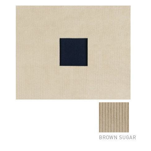 American Crafts - Corduroy Album - 12x12 D-Ring Album - Brown Sugar