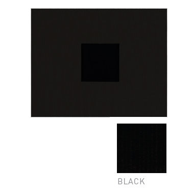 American Crafts - Corduroy Album - 8x8 D-Ring Album - Black