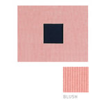 American Crafts - Corduroy Album - 8x8 D-Ring Album - Blush