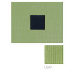 American Crafts - Corduroy Album - 8x8 D-Ring Album - Leaf