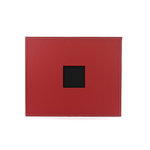 American Crafts - Faux Leather Album - 12 x 12 - D-Ring - Pomegranate