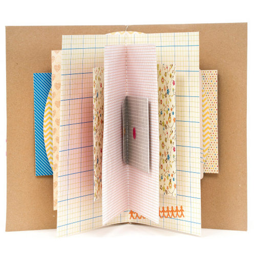 American Crafts - Amy Tangerine Collection - Mini Book - I Heart You